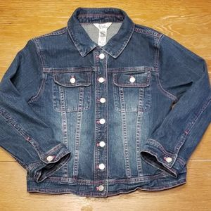 LILLY PULITZER denim jacket